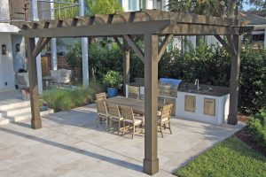 Arbors and Pergolas #003 by Pools by John Clarkson
