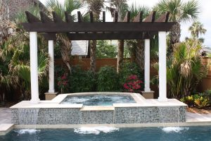 Arbors and Pergolas #004 by Pools by John Clarkson