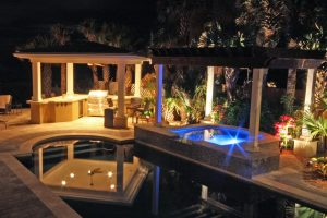 Arbors and Pergolas #005 by Pools by John Clarkson