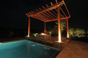 Arbors and Pergolas #006 by Pools by John Clarkson