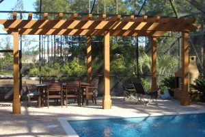 Arbors and Pergolas #009 by Pools by John Clarkson