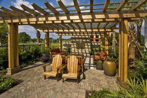 Arbors and Pergolas #010 by Pools by John Clarkson
