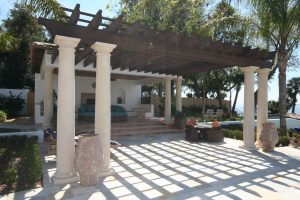 Arbors and Pergolas #011 by Pools by John Clarkson
