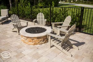 Fireplaces and Firepits #004 by Pools by John Clarkson