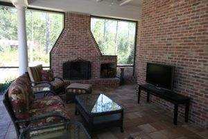 Fireplaces and Firepits #005 by Pools by John Clarkson