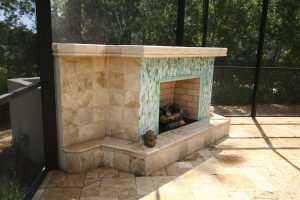 Fireplaces and Firepits #007 by Pools by John Clarkson