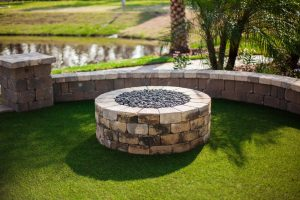 Fireplaces and Firepits #008 by Pools by John Clarkson
