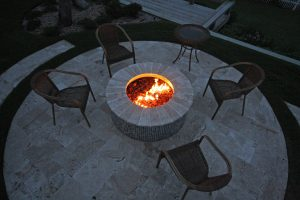 Fireplaces and Firepits #009 by Pools by John Clarkson
