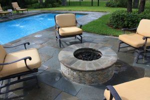 Fireplaces and Firepits #010 by Pools by John Clarkson