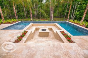 Fireplaces and Firepits #011 by Pools by John Clarkson