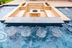 Fireplaces and Firepits #012 by Pools by John Clarkson