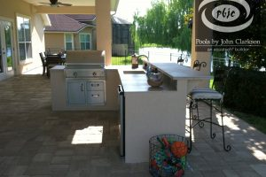 Kitchens and Grills #007 by Pools by John Clarkson