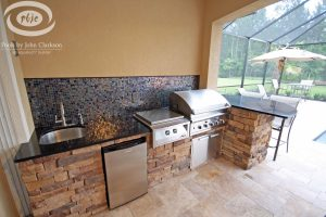 Kitchens and Grills #010 by Pools by John Clarkson
