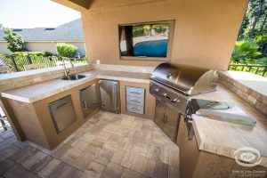 Kitchens and Grills #011 by Pools by John Clarkson