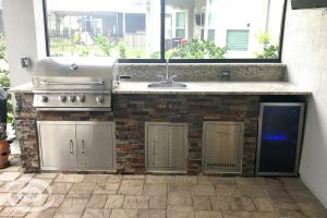 Kitchens and Grills #002 by Pools by John Clarkson