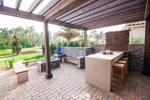 Outdoor Living #022 by Pools by John Clarkson