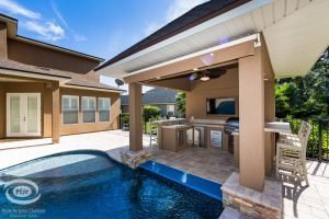 Arbors and Pergolas #012 by Pools by John Clarkson