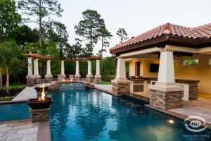 Arbors and Pergolas #013 by Pools by John Clarkson