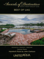 2020 Best of UAG Award - Cypress Peace, Residential Concrete Freeform