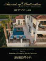 2020 Best of UAG Award - Sunrise, Residential Concrete Geometric