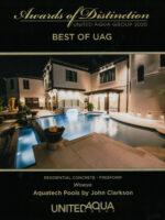 2020 Best of UAG Award - Wowya, Residential Concrete Freeform