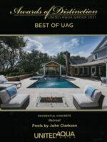2021 Best of UAG Award - Retreat, Residential Concrete