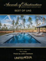 2021 Best of UAG Award - The Lodge, Residential Concrete